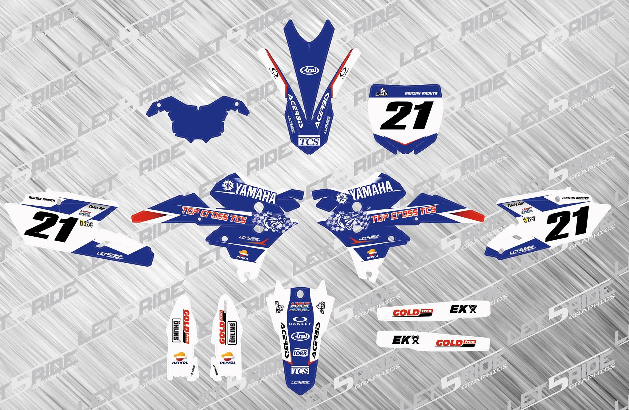 sticker moto yamaha adrian raduta