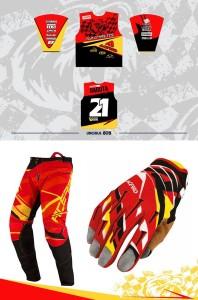 echipament motocross