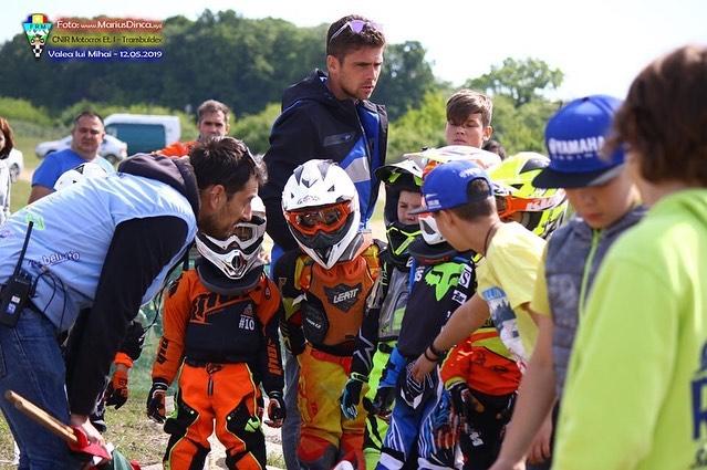 Piloții Top Cross TCS au făcut spectacol la prima etapă din Campionatul Național de Motocross