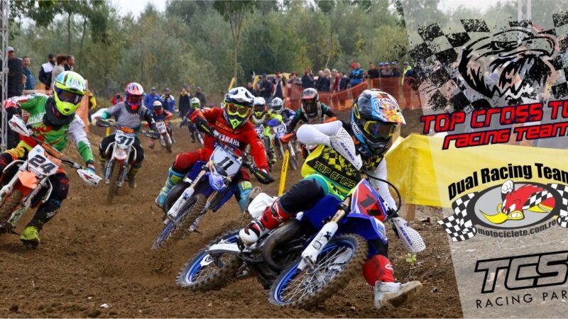 Piloții echipei Top Cross TCS Racing vor să facă spectacol pe teren propriu