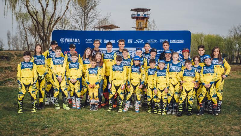 3 piloți ai echipei Top Cross TCS Racing Team au terminat pe podium la general în Campionatul Balcanic de Motocross